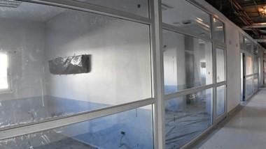 El ala de Terapia Intensiva del nuevo Hospital de Alta Complejidad.