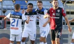 Atalanta acecha al Inter tras consumar su octavo triunfo consecutivo, ante Cagliari.