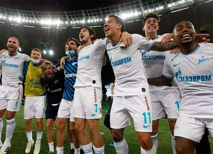 Zenit, con presencia argentina, es campeón en Rusia