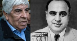 El abogado de Hugo y Pablo Moyano, Daniel Llermanos (D).