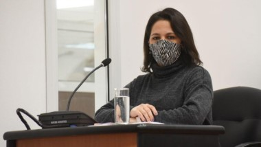 Graciela Saffirio, concejal de la ciudad de Comodoro Rivadavia.