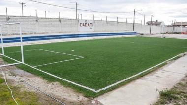 La dirigencia del club realiza distintas obras de infraestructura.