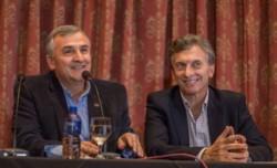 Gerardo y Mauricio en tiempos mejores, a pura sonrisa.