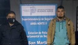 Edgar Martínez, paraguayo, de 27 años, fue detenido en Villa Concepción, al estar sindicado como autor del femicidio de Sandra Lorena Mercado Acosta.
