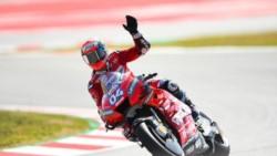 Dovizioso vuelve a soñar al reinar en 'territorio Ducati'.