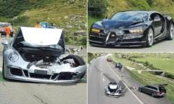 Se estima que el total de daños materiales asciende a 3.7 millones de francos suizos, unos 4 millones de dólares.