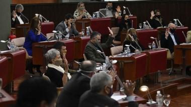 Votos. El proyecto de Resolución presentado por Pagliaroni fue aprobado sobre tablas en la Cámara.