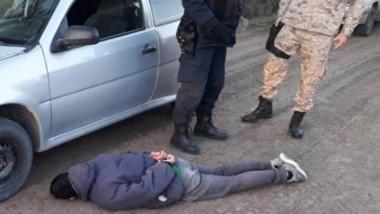 Los delincuentes fueron detenidos luego de una persecución callejera.