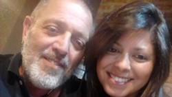 Pablo Muse junto a su hija Solange. El hombre manejó 40 horas para ver a su hija y lo hicieron pegar la vuelta.