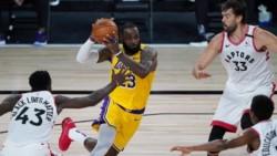 Los Raptors acumulan once victorias consecutivas contra los Lakers. ¿Última vez que ganaron los Lakers fue en 2014, con Kobe Bryant en cancha.