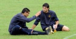 Riquelme ya tiene al posible reemplazante de Andrada o Rossi en su círculo de amigos más cercanos: Javier García.