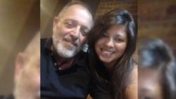 Solange Musse y su papá Pablo Muse, por culpa de la burocracia la joven no pudo despedirse de su padre.