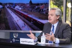 Alberto Fernández  busca un estado más presente en obra pública y seguridad.