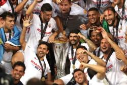 Último partido de Banega en el Sevilla.