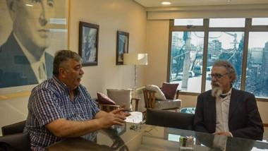 Dirigencia. González y Luenzo charlaron de un recurso clave.