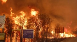 Estos son los peores incendios de los últimos doce años. (foto gentileza La Voz del Interior).