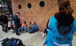 La Policía de la CABA detuvo a 14 miembros de una banda que hacía entraderas.