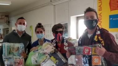 La filial madrynense de San Lorenzo sigue realizando actos solidarios.