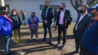 Charla. El espacio es único en su tipo en la provincia y recibió la visita y el respaldo del intendente.