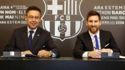 El club azulgrana ha tomado esta decisión después de recibir el burofax en que Messi pedía su salida del club gratis.
