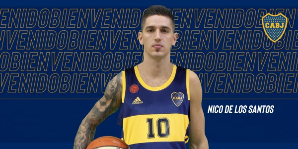 """""""Nico"""" De los Santos es nuevo jugador de Boca Juniors"""