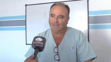 """El doctor Eduardo Wasserman advirtió que la situación en el Hospital Regional es """"complicada""""."""