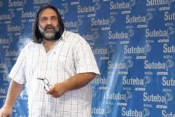 El secretario general de Suteba, Roberto Baradel.