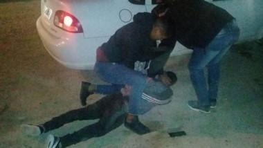 La detención de los extorsionadores se concretó en el marco de un operativo policial en la ciudad del Golfo.