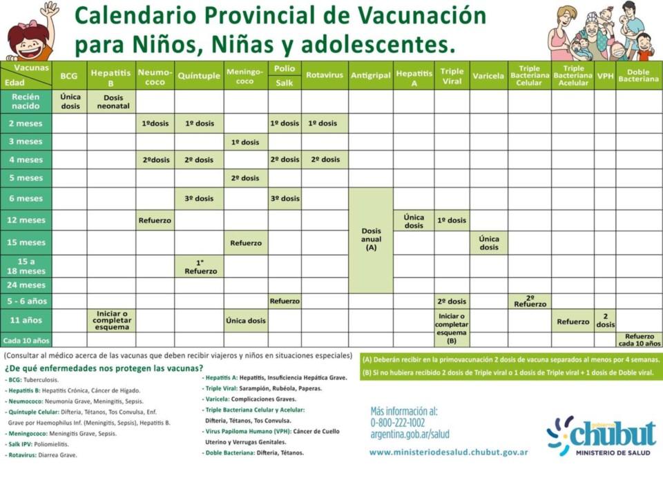 Esquema De Vacunacion Actualizado
