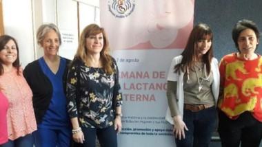 """El Comité de Lactancia del Hospital """"Andrés Isola"""" de Puerto Madryn."""
