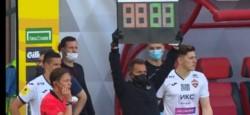 El exjugador de San Lorenzo ingresó a los 84' y reventó el travesaño en la última jugada del partido.