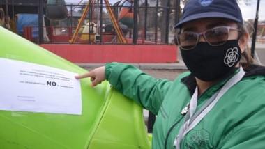 Guardia Urbana realizó trabajos preventivos en espacios públicos.