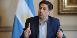 """El ministro de Educación de la Nación, Nicolás Trotta, afirmó que promueve """"el regreso a las aulas siempre y cuando la salud lo permita""""."""
