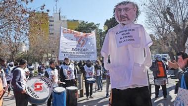 Tras la protesta, el ministro de Salud se comprometió a gestionar una reunión con equipos de Economía.