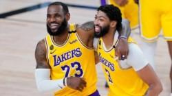 La historia se repitió, LeBron James surgió con la gran figura que aportó 36 puntos y estuvo al frente d.el ataque de Los Angeles Lakers