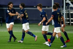 Buena victoria de Osasuna como visitante en el inicio del torneo español.