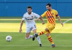 Lionel Messi volverá a ponerse la camiseta del Barcelona después del conflicto en un amistoso frente al Nástic.