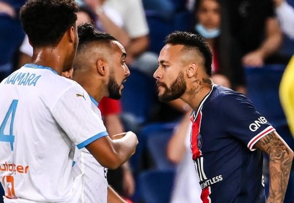 El partido tuvo una pica personal entre Neymar con Payet.