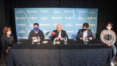 Sastre brindó una conferencia de prensa tras haberse curado.