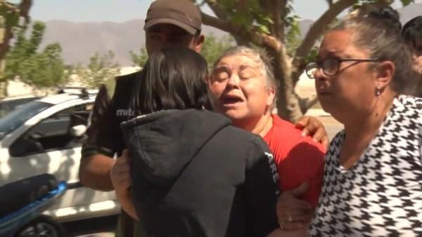 El dolor de la abuela de la nena y de los vecinos que no pueden creer lo ocurrido.