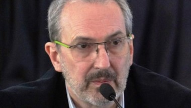 Fabián Puratich,  ministro de Salud de la provincia del Chubut.