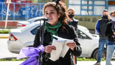 Molestia. Belén Murúa, una de las víctimas, dejó clara su posición con un pronunciamiento en Tribunales.