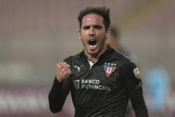Liga de Quito derrota a Binacional con gol del uruguayo Matías Zunino.