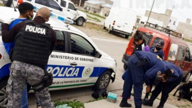 La detención fue merced al rápido accionar del personal policial.