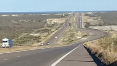 Una de las principales inversiones en materia de rutas estará focalizado en la autovía entre Trelew y Madryn.
