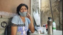 La casa de Isabel Ibáñez, pobreza total y drogas, una combinación letal.  /Foto de Mariana Romero