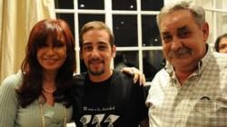 Francisco junto a Cristina y su padre. El nieto 101 pudo conocer a su progenitor, Abel Madariaga (Foto).