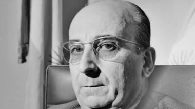 Adolfo Margara, rector del Colegio Nacional de Trelew en 1955. Foto: José Feldman / Jornada