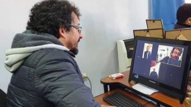 La reunión se realizó a través de la plataforma virtual Zoom.