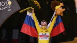 Tadej Pogacar gana el Tour de Francia y hace historia para Eslovenia.